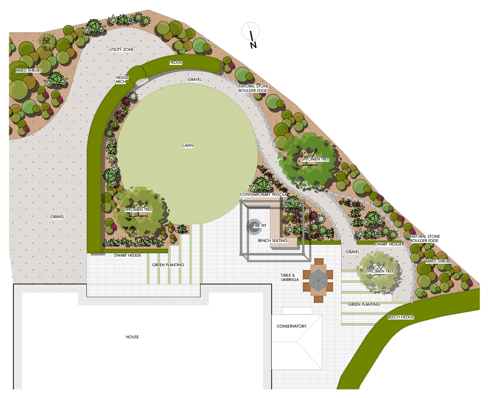 Garden design johnny knox garden design belfast for Garden designs ireland