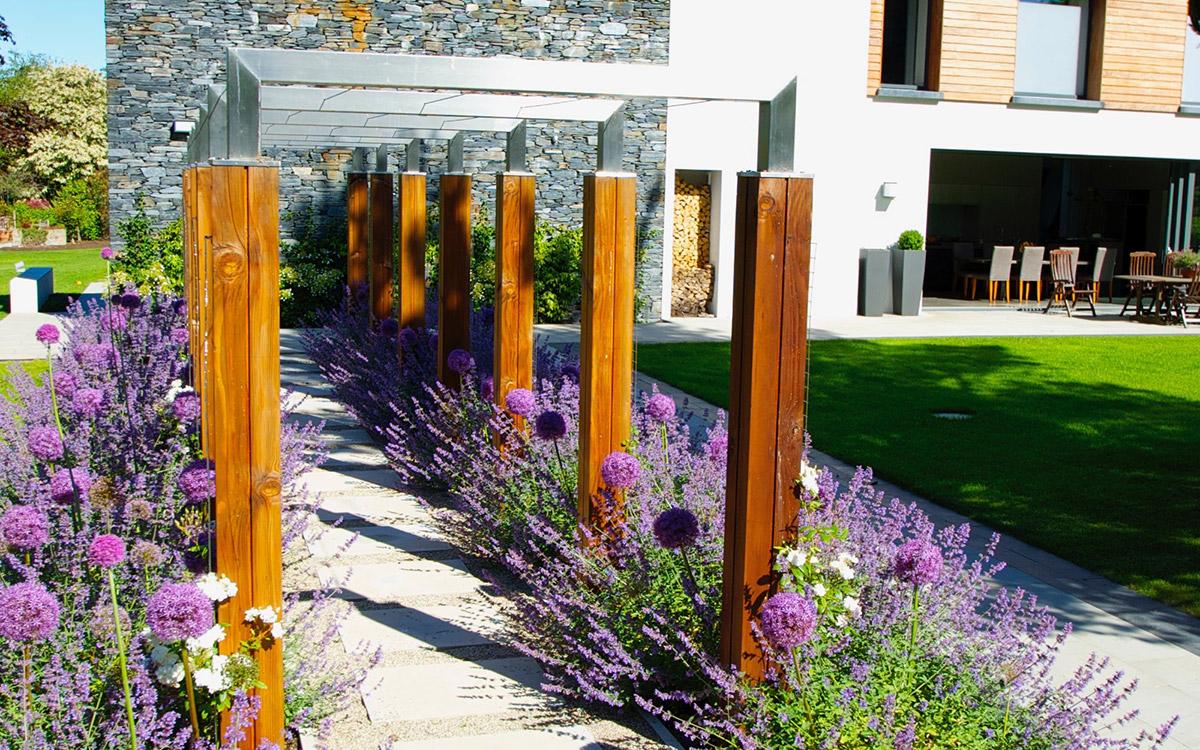 Contemporary Garden Holywood Johnny Knox Garden Design