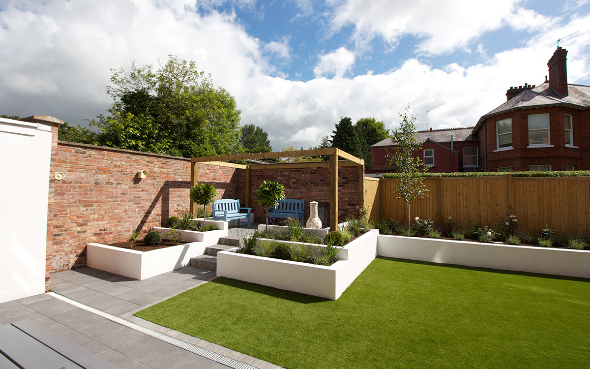 Contemporary Garden Lisburn - Johnny Knox Garden Design | Belfast ...