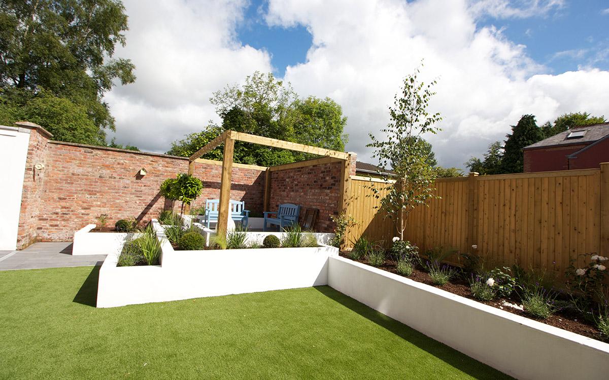 Contemporary Garden Lisburn - Johnny Knox Garden Design ...
