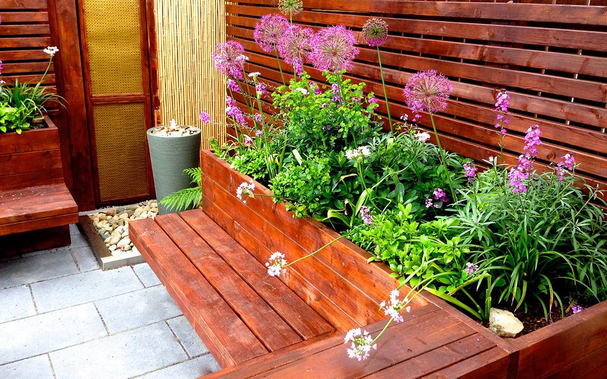 Contemporary Garden Saintfield - Johnny Knox Garden Design ...