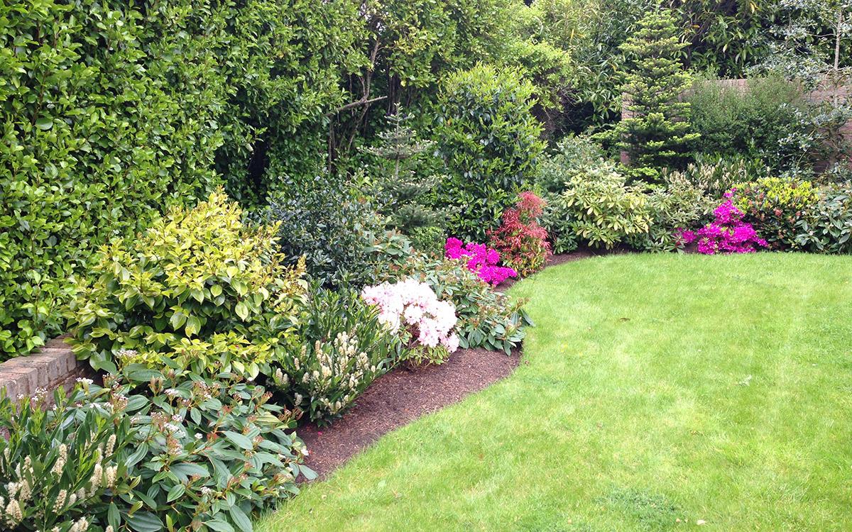 Traditional Garden Holywood Red Brick - Johnny Knox Garden ...