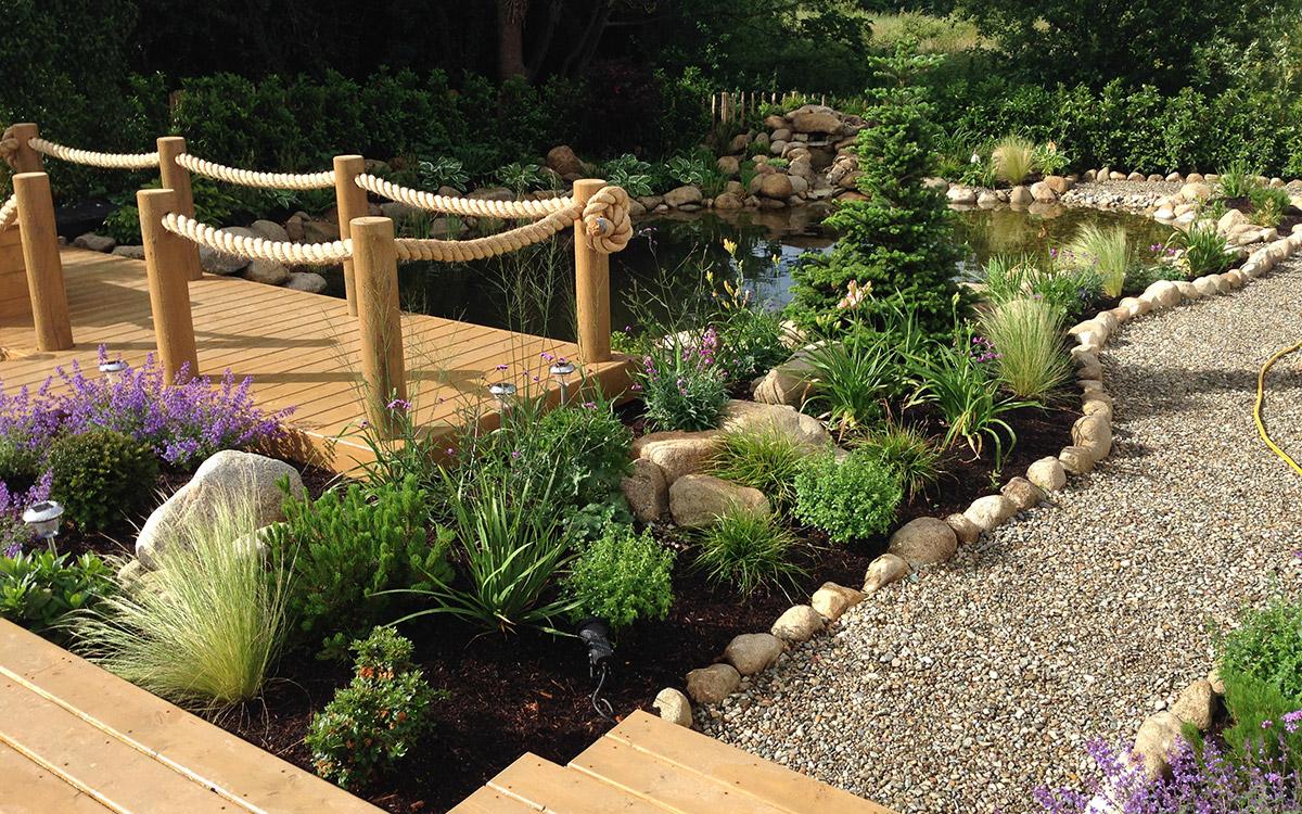 Tropical Garden Moria - Johnny Knox Garden Design ...